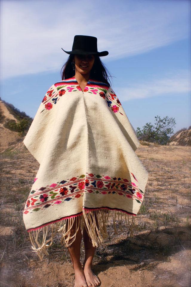 mexican poncho-cinco de mayo