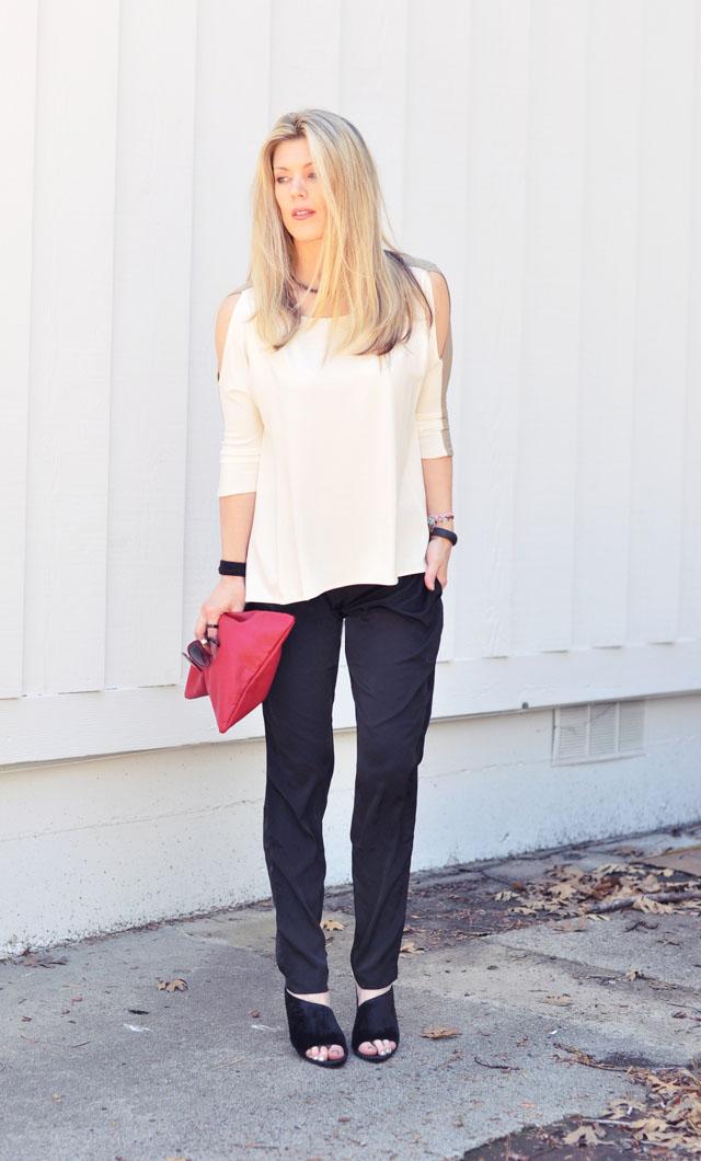minimalist outfit+alexander wang