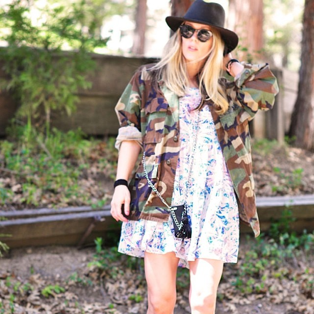 mixed prints-camo jacket