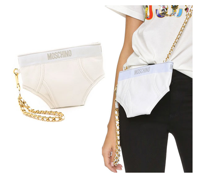 moschino underwear bag