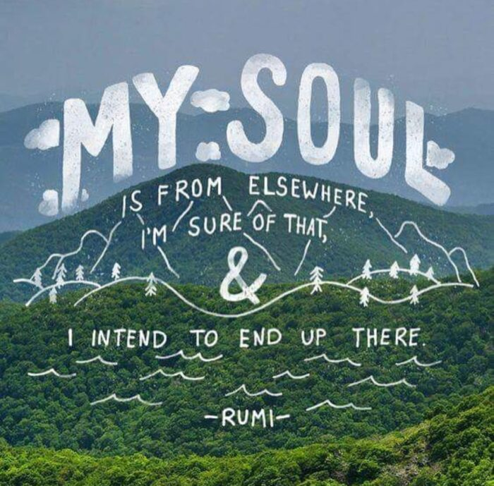 my soul is from elsewhere