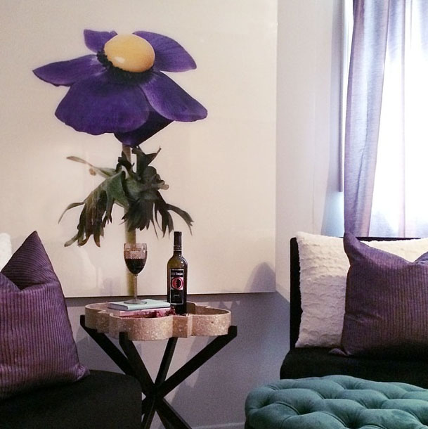nathalia edenmont flower print-master bedroom