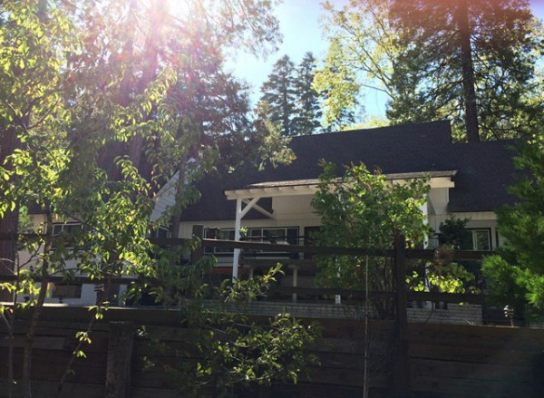 exterior house / veranda