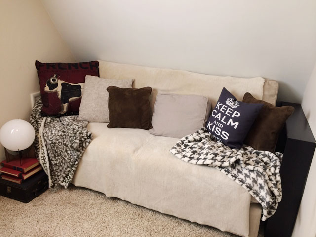 old couch corner
