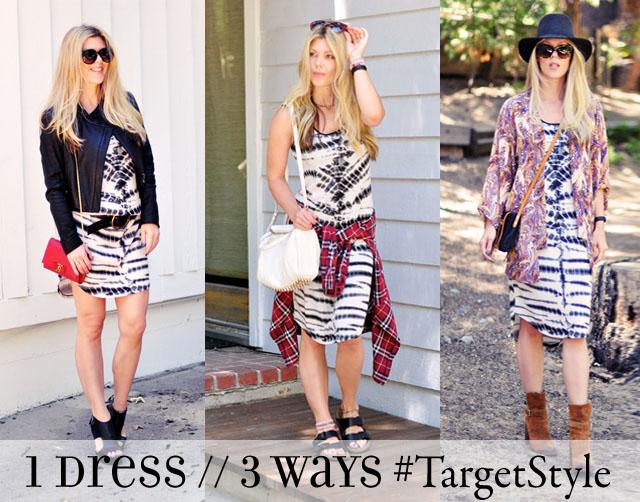 one dress three ways #TargetStyle