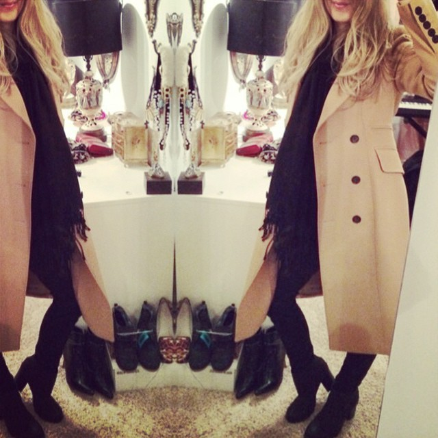 ootd-camel coat