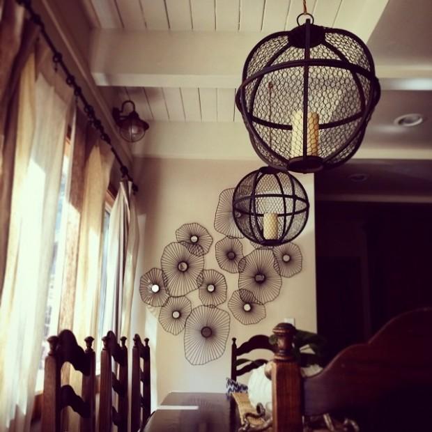 orb pendant lanterns