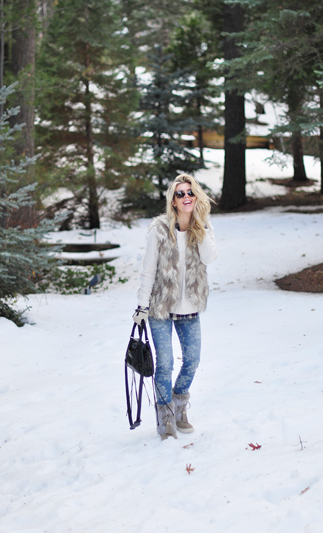 outfit in the snow_laughing