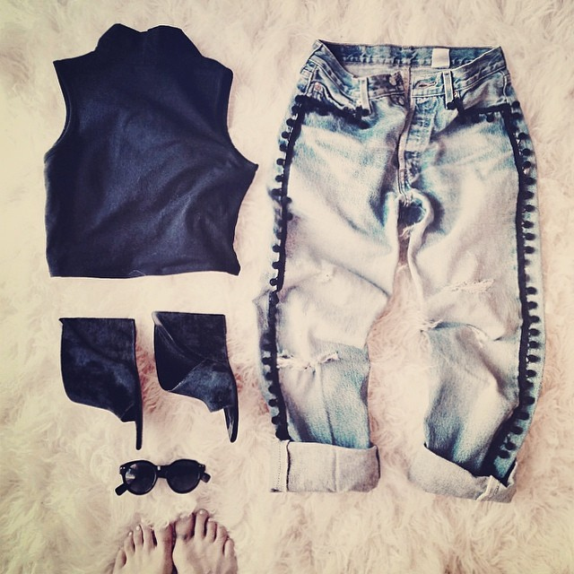 outfit layout