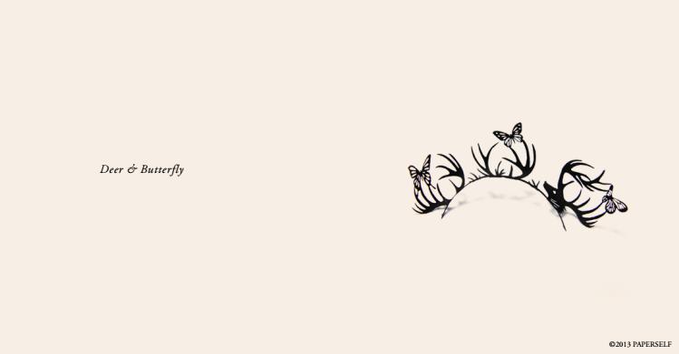 paper eyelashes-butterflies