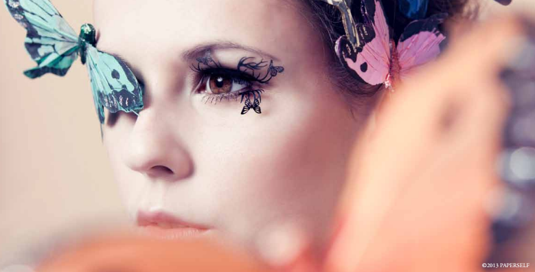 paper false butterfly lashes