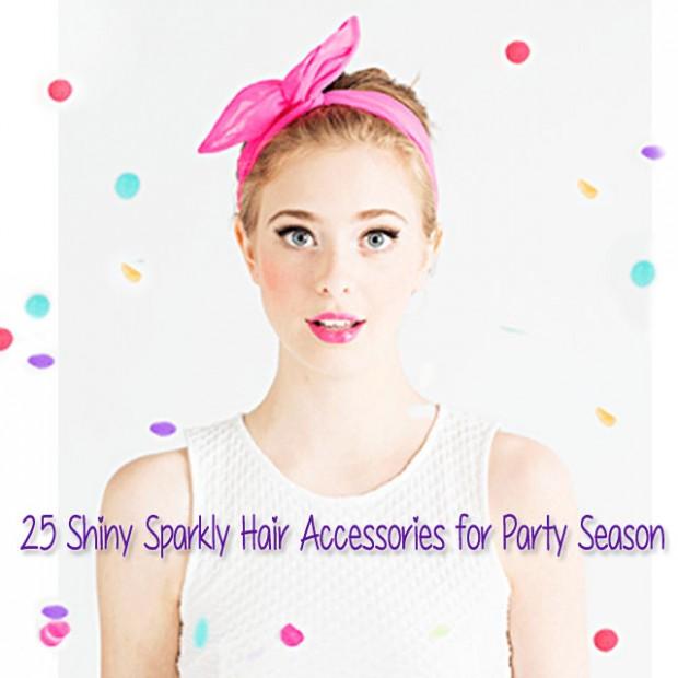 party season hair accessories