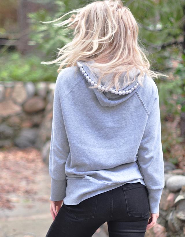 pearl hooded sweatshirt