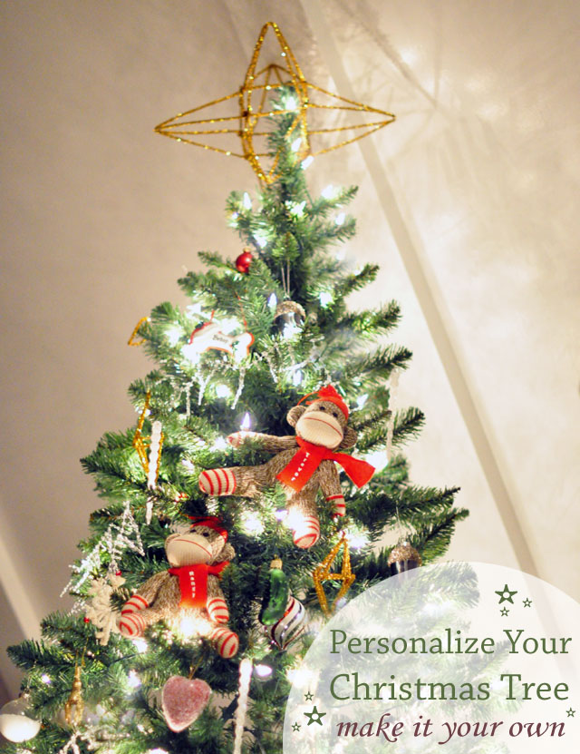 personalized christmas tree