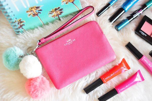 pink coach wristlet giveaway