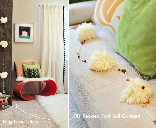 pouf ball tassel string diy -2