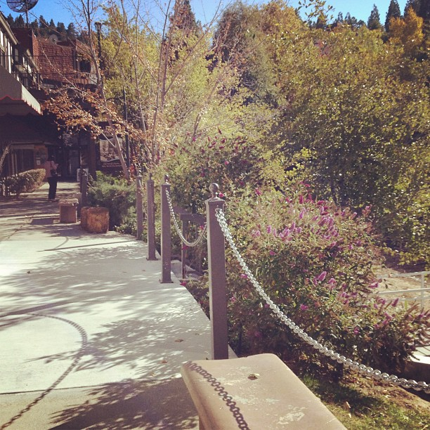 pretty walkway