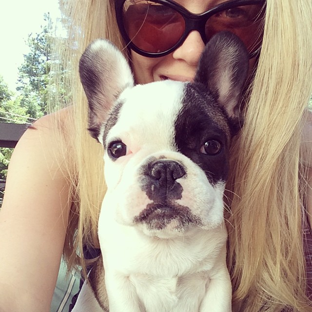 randy puppy selfie