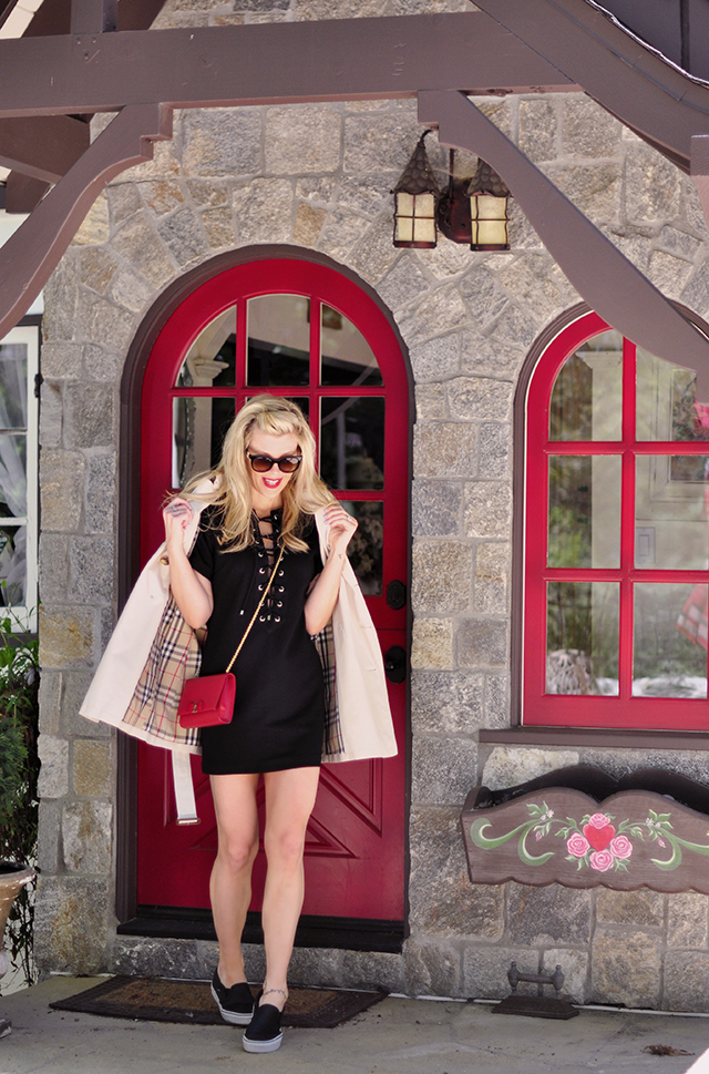 red door_cottage home_lbd_burberry trench