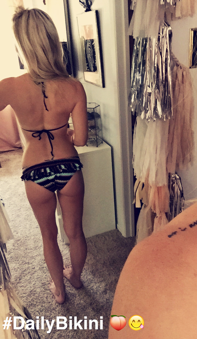 ruffle butt bikini bottoms