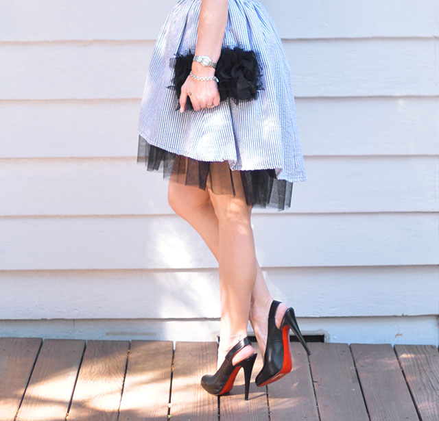 seersucker and tulle_louboutin heels