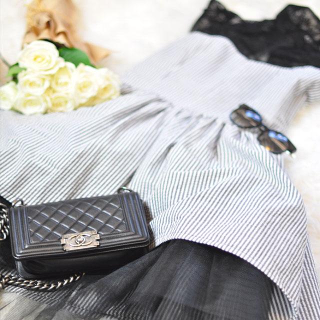 shelby dress_chanel boy bag