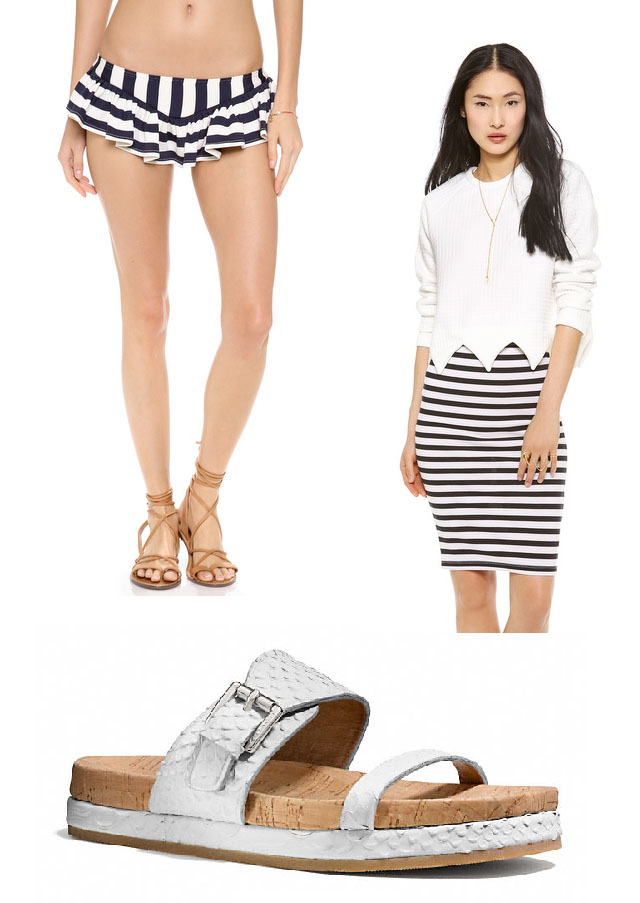 spring shopping-white+stripes