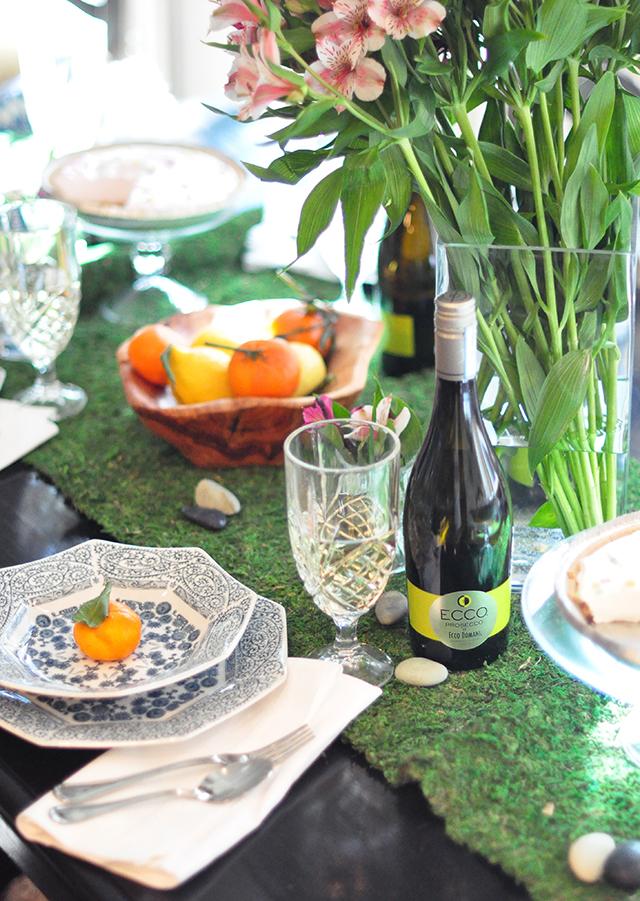spring table_ecco prosecco
