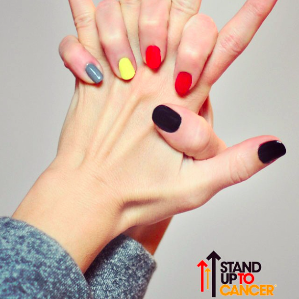stand up to cancer nails