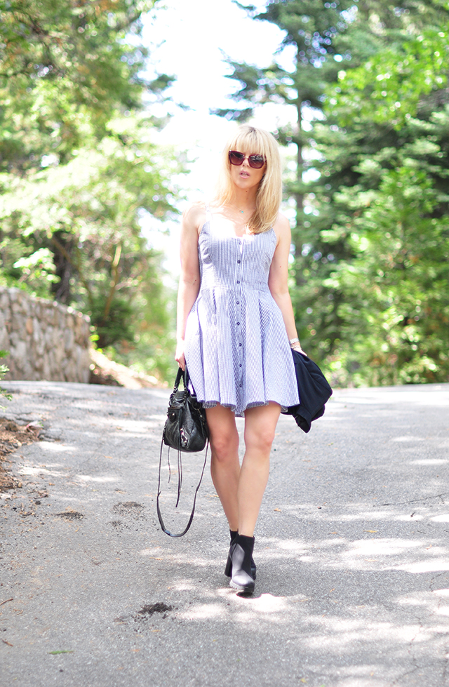summer dress with boots