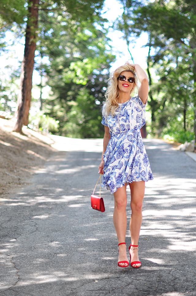 summer dress_red white and blue