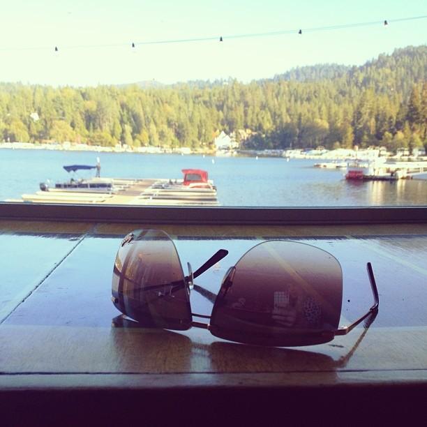 sunglasses lake