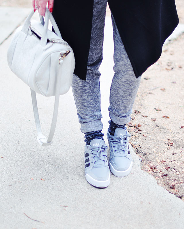 sweats_adidas sneakers_alexander wang bag