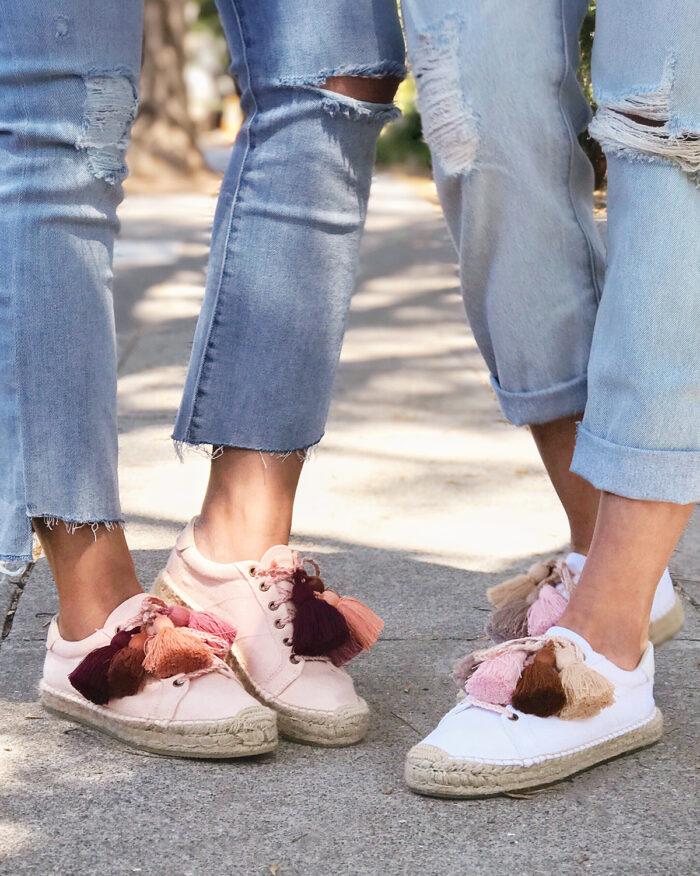 DIY Tassel Shoes - espadrilles