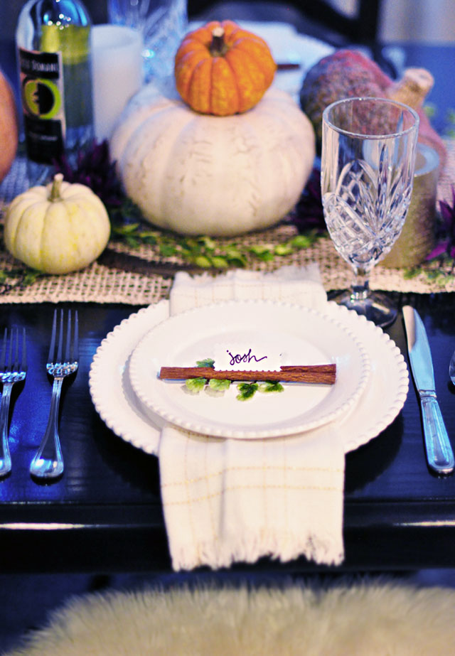 thansgiving place settings