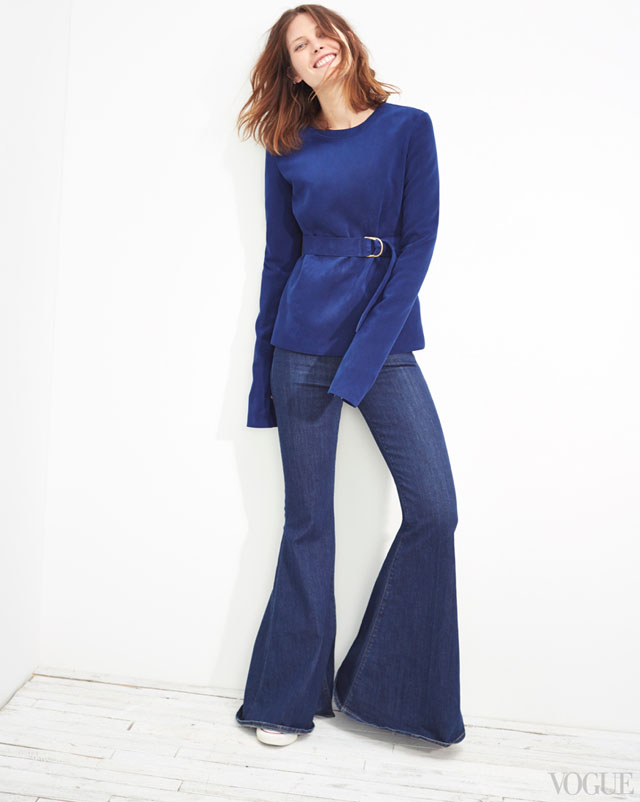 the new denim - bell bottoms