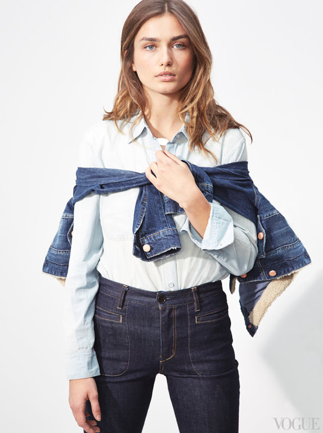the new denim -high waist-charlie's angles look