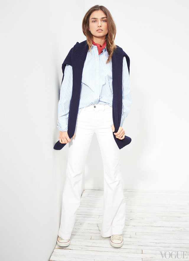 the new denim - tomboy nautical preppy