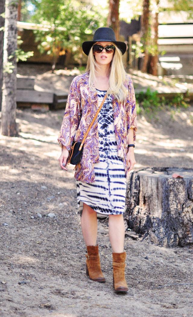 tie dye targetstyle dress styled bohemian