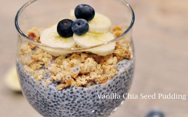 vanilla chia seed pudding recipe