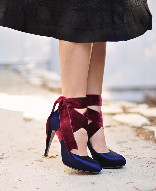 velvet-ankle-wrap-pumps
