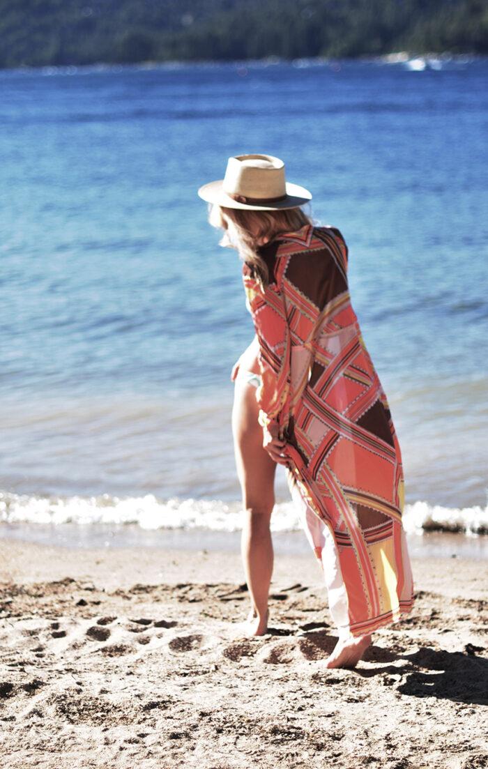 vintage pucci coverup robe - emilio pucci formfit rogers