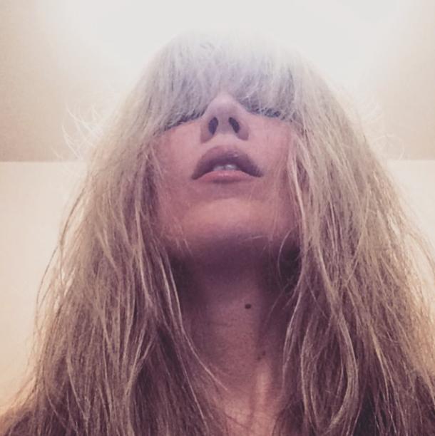 wet hair selfie