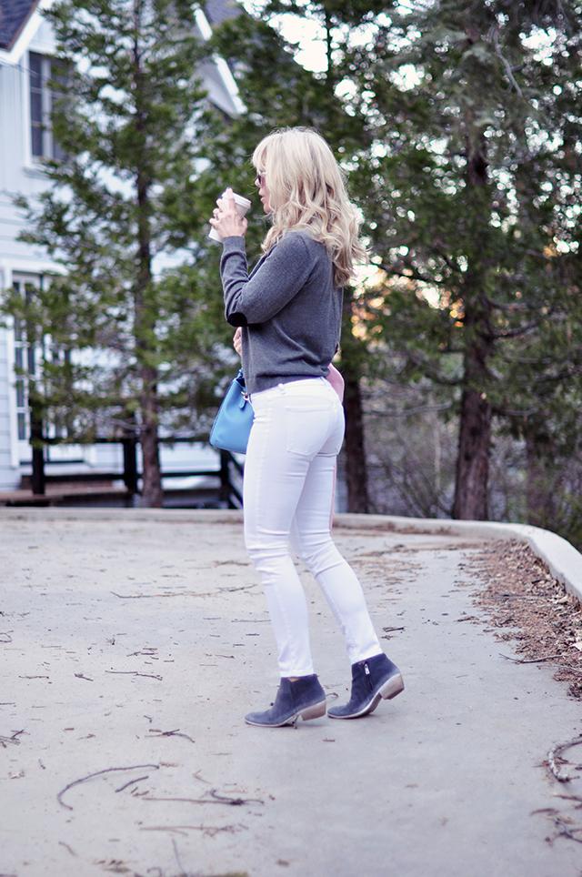 white jeans_gray sweater_gray boots_ wearing pantone colors of the year 2016