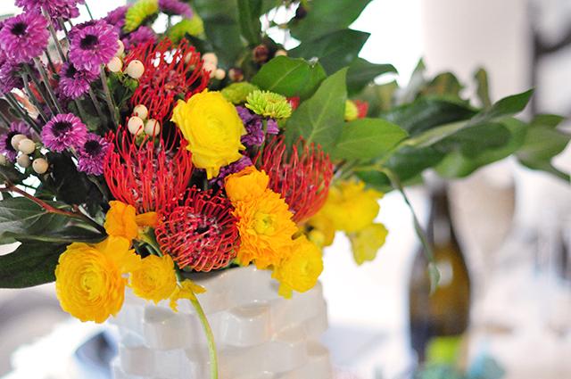 wildflowers table