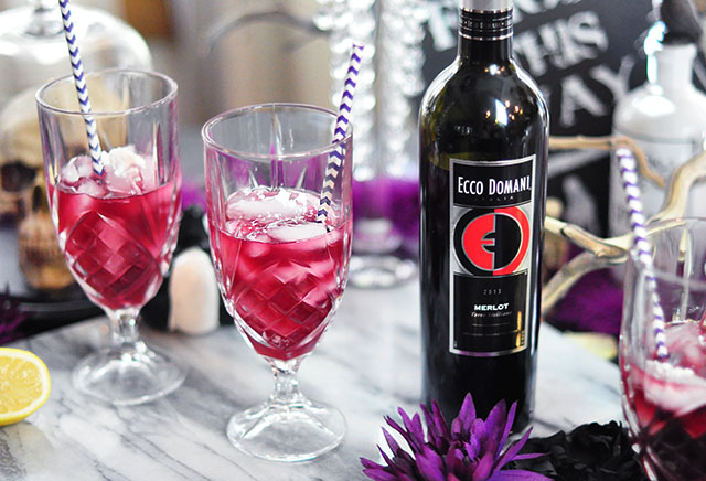 wine cocktails for Halloween