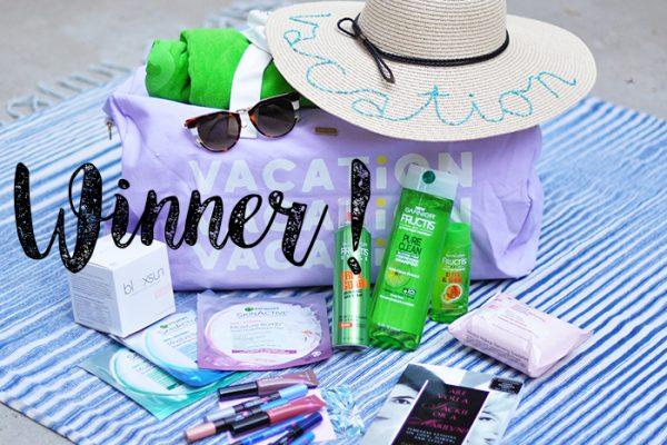 blogger giveaways - summer giveaway winner