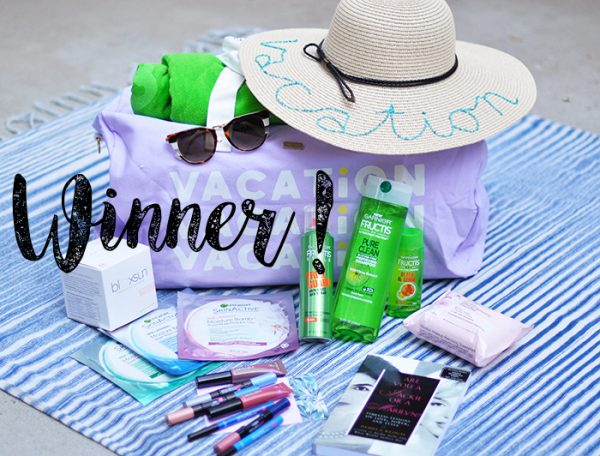 blogger giveaways - summer giveaway winner